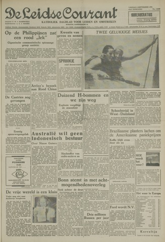 Leidse Courant 1954-09-03