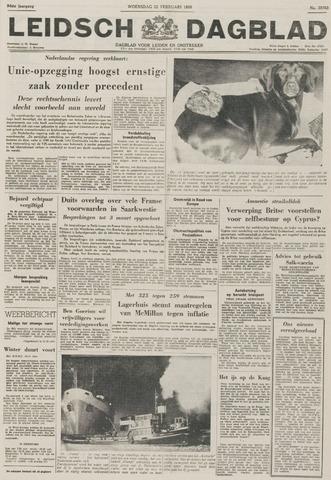 Leidsch Dagblad 1956-02-22