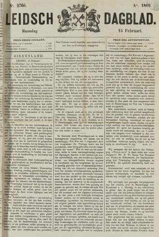 Leidsch Dagblad 1869-02-15