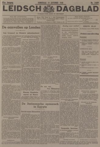 Leidsch Dagblad 1940-09-19