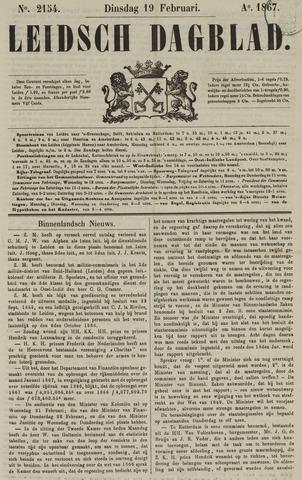 Leidsch Dagblad 1867-02-19