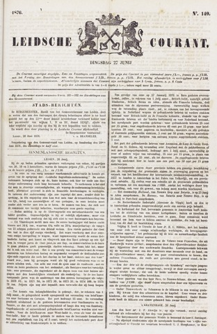 Leydse Courant 1876-06-27