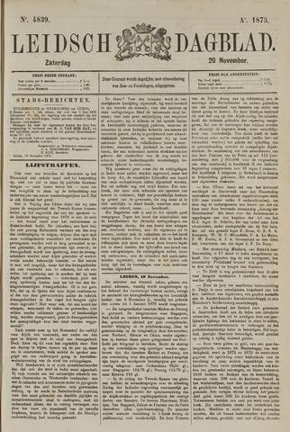 Leidsch Dagblad 1875-11-20