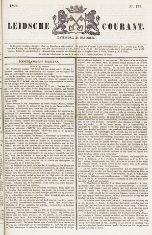 Leydse Courant 1869-10-23