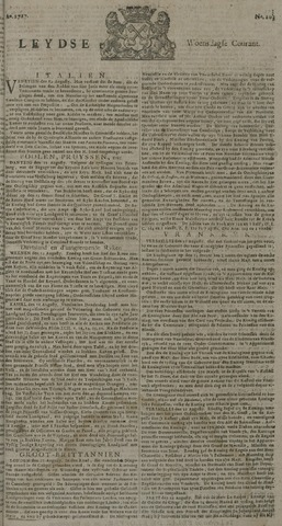 Leydse Courant 1727-08-27