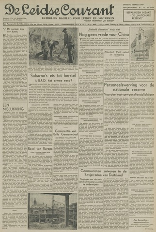 Leidse Courant 1949-03-08