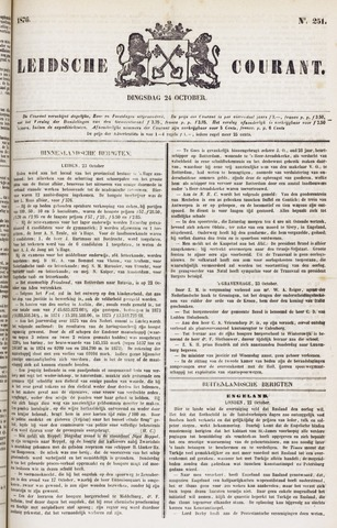 Leydse Courant 1876-10-24