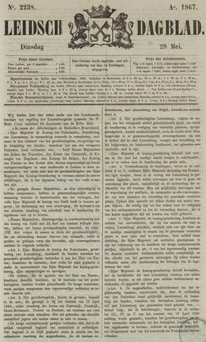 Leidsch Dagblad 1867-05-28