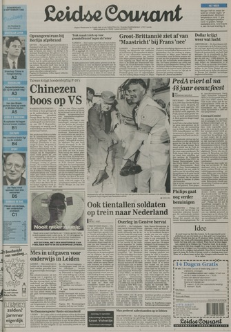Leidse Courant 1992-09-03