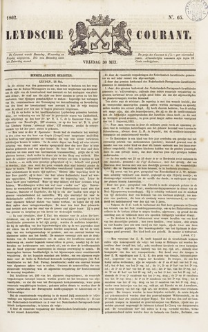 Leydse Courant 1862-05-30