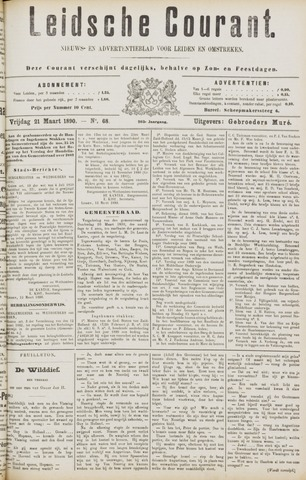 Leydse Courant 1890-03-21