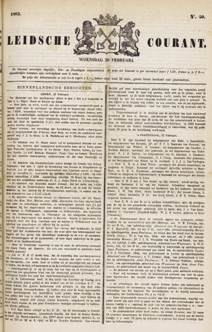 Leydse Courant 1883-02-28