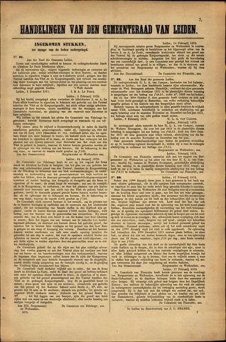 Handelingen van de Raad 1872-02-05