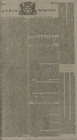 Leydse Courant 1745-11-15