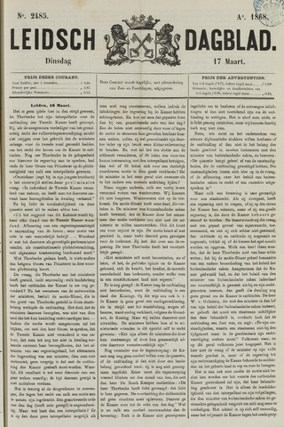 Leidsch Dagblad 1868-03-17