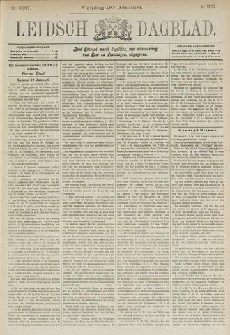 Leidsch Dagblad 1893-01-20