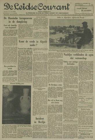 Leidse Courant 1961-10-25