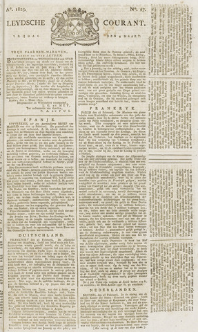 Leydse Courant 1825-03-04