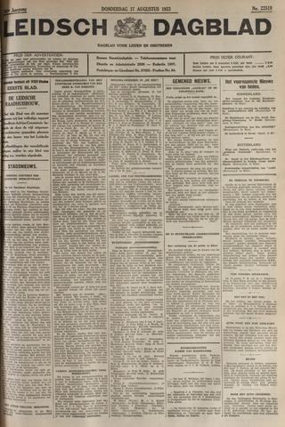 Leidsch Dagblad 1933-08-17