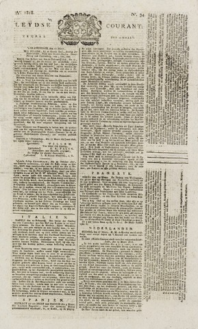 Leydse Courant 1818-03-20