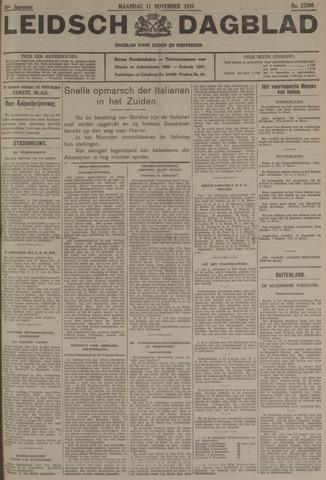 Leidsch Dagblad 1935-11-11