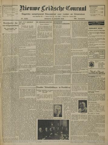 Nieuwe Leidsche Courant 1938-01-04