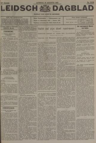 Leidsch Dagblad 1935-08-24