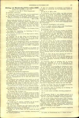 Handelingen van de Raad 1897-11-18