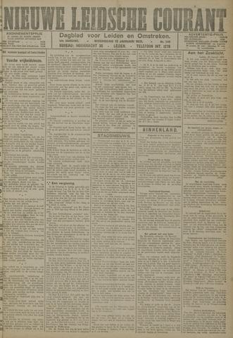 Nieuwe Leidsche Courant 1921-01-12