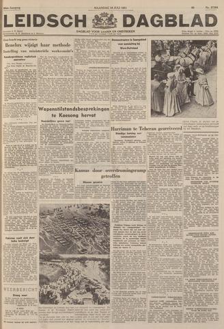 Leidsch Dagblad 1951-07-16