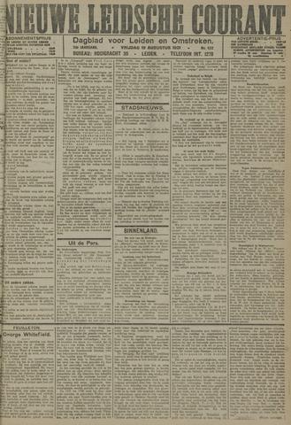 Nieuwe Leidsche Courant 1921-08-19