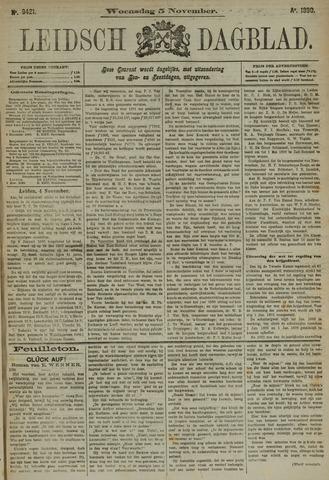 Leidsch Dagblad 1890-11-05