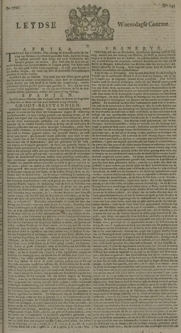 Leydse Courant 1722-11-25