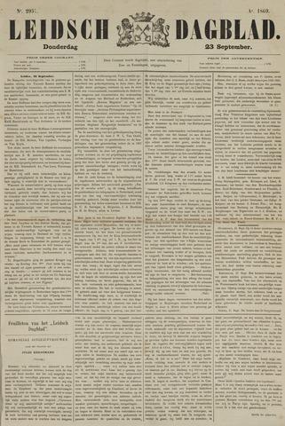 Leidsch Dagblad 1869-09-23