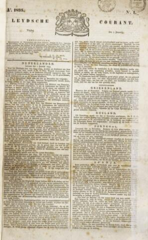 Leydse Courant 1835