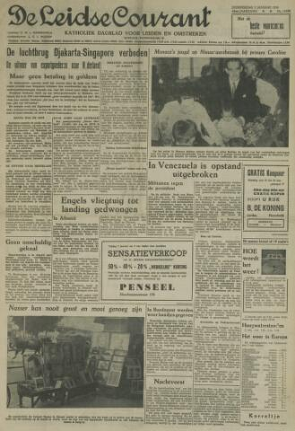 Leidse Courant 1958