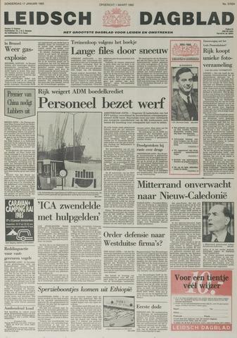 Leidsch Dagblad 1985-01-17