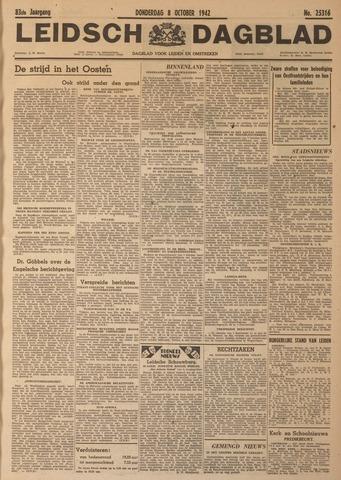 Leidsch Dagblad 1942-10-08