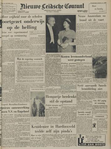 Nieuwe Leidsche Courant 1957-10-22