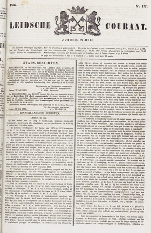 Leydse Courant 1876-07-29