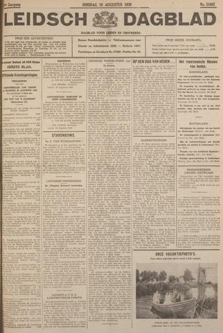 Leidsch Dagblad 1930-08-19