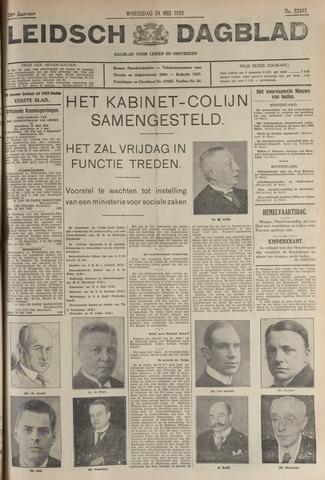 Leidsch Dagblad 1933-05-24