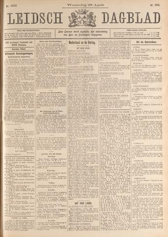 Leidsch Dagblad 1915-04-28