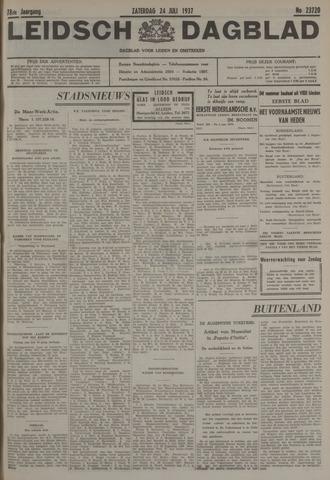 Leidsch Dagblad 1937-07-24
