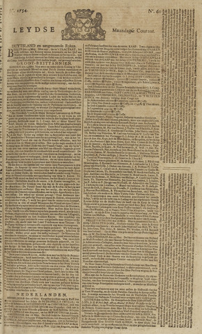 Leydse Courant 1754-05-20