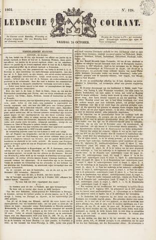 Leydse Courant 1862-10-24