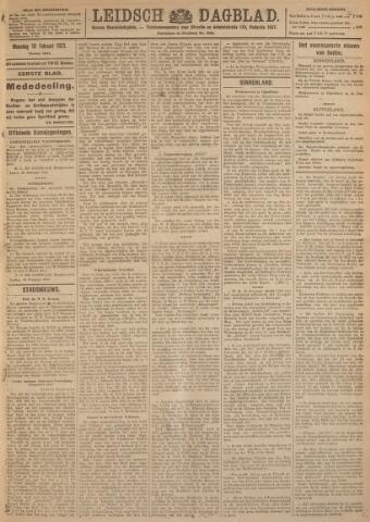 Leidsch Dagblad 1923-02-19