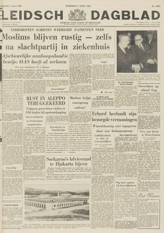Leidsch Dagblad 1962-04-04