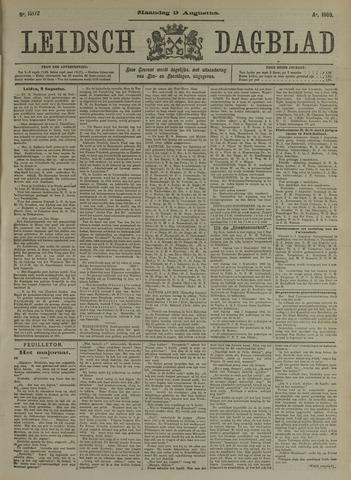 Leidsch Dagblad 1909-08-09