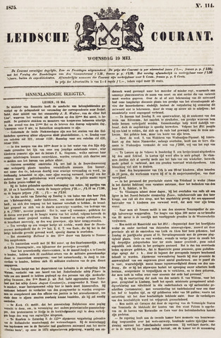 Leydse Courant 1875-05-19